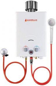 Produktbild des Kompakt-Durchlauferhitzers Camplux BW158C